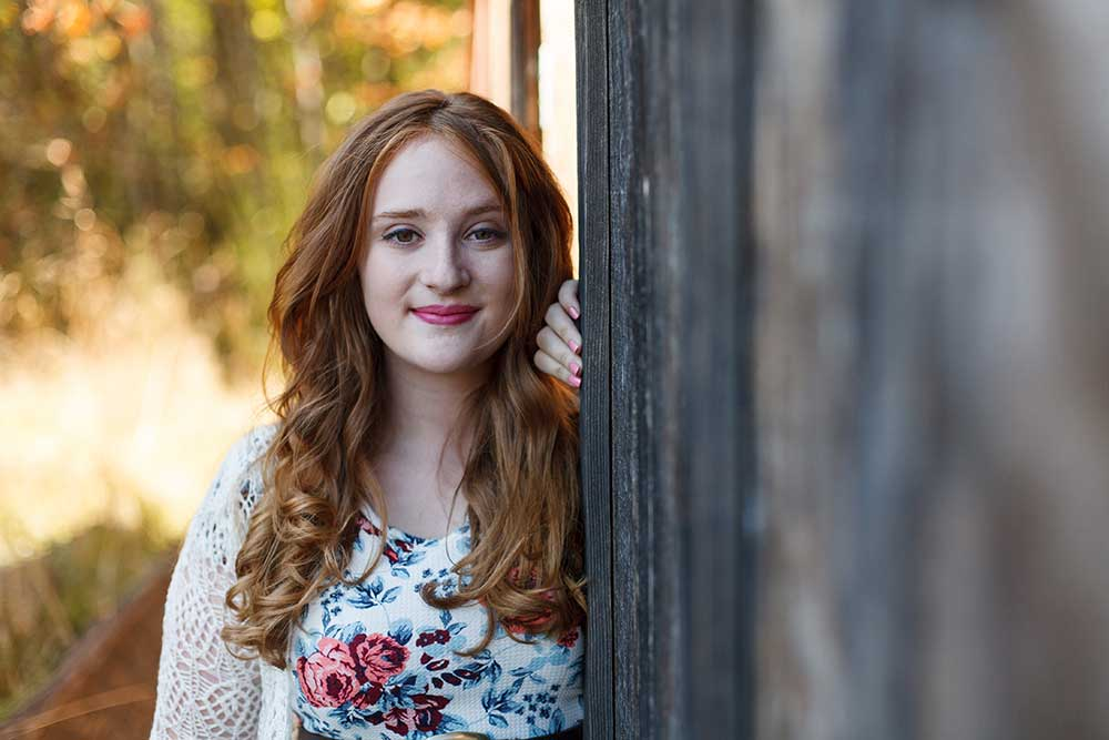 Port Angeles Senior Portraits: Sydney